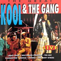 Kool & The Gang CD The Great Kool & The Gang Live - Portugal (M/M)
