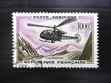FRANCE 1958 - 1000f Helicopter SG1320 Fine/Used FP8950