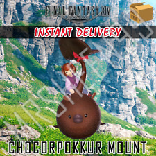 Final Fantasy 14 XIV Butterfinger Chocorpokkur Mount Official Code