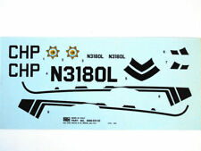 Esci 4098-E9130 Decals Bell 222 California Highway Patrol 1:48 modeling