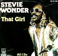 Stevie Wonder - That Girl / All I Do 7in 1981 (VG/VG) .