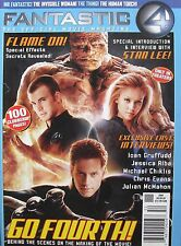 JESSICA ALBA CHRIS EVANS IOAN GRUFFUDD MICHAEL CHIKLIS 2005 FANTASTIC 4 Magazine