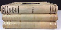 FOLKLORE ET COSTUMES DE L'ESPAGNE. 3 VOLUMES. EDIT. A. MARTÍN. 1943/1946.