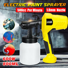 600W Electric Spray Gun Paint Cars Home Wood Furniture Wall Paint Sprayer 110V