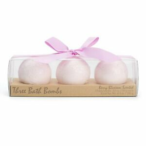Charming Charlie Bath Bomb Fizzies Set - Spa and Body Care Essential - Pack of 3