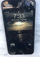 APPLE IPOD TOUCH 4th GEN 8GB A1367 cracked screen but works otherwise