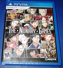 Zero Escape: The Nonary Games PlayStation Vita *Brand New! *Free Shipping!