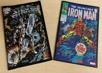 IRON MAN 2020 #1 SILVER SURFER BLACK #1 2019 Shattered Variants (2-pack)