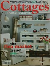 Cottages & Bungalows Flea Market Style Jun July 2014 FREE  SHIPPING