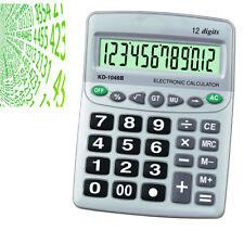 Calcolatrice Grande Da Tavolo Elettronica Negozio 12 Cifre Calcoli Display 806