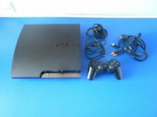 PS3 Sony PlayStation 3 Slim 160 GB Console + Controller, (TESTED, FAST DISPATCH)