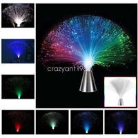 Nightlight Lamp Color Changing LED Fiber Optic Light Living Room Wedding Decor