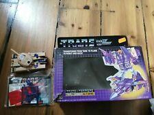 Vintage transformers Blitzwing - triple changer Hasbro