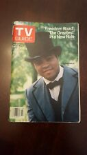 TV GUIDE OCTOBER 1979 MUHAMMAD ALI. FREEDOM ROAD. L.A. edition. Mint condition.