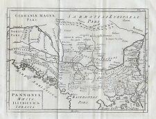1779 Ancient Bulgaria Macedonia Kosovo Montenegro Balkans Antique Map Cellarius