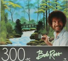 Secluded Bridge by Bob Ross - 300 Pieces Jigsaw Puzzle by Cardinal