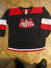 Misfits Red Bat Heavy Metal Hockey Jersey