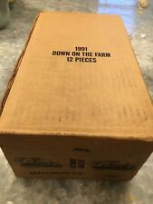 1991 Classic Down on the Farm - Braves Factory set case of (12) - Chipper Jones