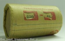 SILVER DOLLAR ROLL $20 MORGAN PEACE DOLLAR MIXED DATES COVERED END COINS Y101