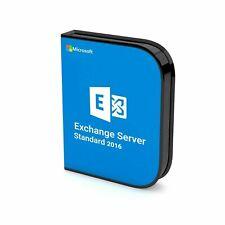 Microsoft Exchange Server 2016 Standard Activation Key | Digital Delivery