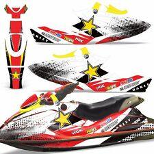 Decal Graphic Kit SeaDoo Jet Ski Wrap Jetski Bombardier Parts Sea-Doo GSX 96-99