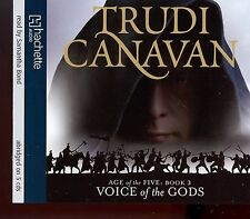 Trudi Canavan / Voice Of Gods - Age Of The Five, Book 3 - 5CD Audio Book