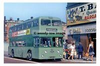 pt7521 - Fishwick & Sons Bus no 30 at Preston , Lancashire - photograph 6x4