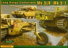 Ace Models 1/72 CENTURION Mk.5 LR Mk.5/1 Long Range Main Battle Tank