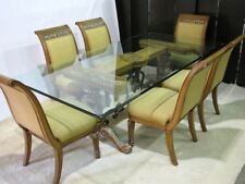"Henredon Statements ""Palagio"" Dining Table, 6 Side Chairs & 2 Arm Chairs"