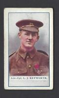 GALLAHER - THE GREAT WAR, VC HEROES, 2ND - #46 L J KEYWORTH