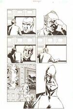 Establishment #7 p.11 - Cyborg - 'Walking Dead' Artist - 2002 by Charlie Adlard Comic Art