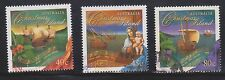 (AUP-144) 1996 Christmas Island part 3set Christmas stamps 40c to 80c