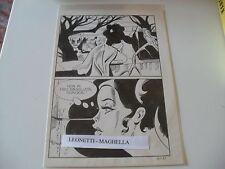 Tavola Originale MAGHELLA n. 127 pag.  51 DINO LEONETTI  Perfetta !!!