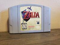 Legend of Zelda Ocarina of Time (Nintendo 64, 1998) Tested Authentic N64
