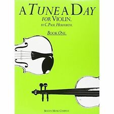 A Tune A Day For Violin Book One, Acceptable, Paul Herfurth, Book