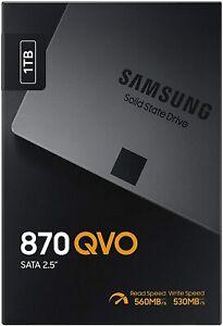 """HARD DISK  STATO SOLIDO SSD Samsung 870 QVO 1000GB 1TB SATA 3 2,5"""" NUOVO MODELLO"""