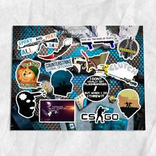Counter-Strike Global Offensive CS:GO A4 vinyl stickers set decals