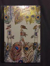 🎁New Bobbypin Chunky Notebook Peacock Design