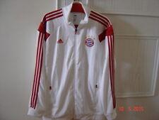 FC Bayern München, Adidas, Anthemjacke weiß, 2013/2014, Größe: XL, FCB, Triple !