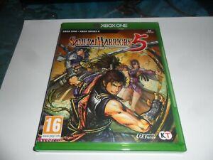 XBOX GAME   SAMURAI WARRIORS 5