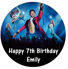 "Greatest Showman Personalised Cake Topper 7.5"" Edible Wafer Paper"