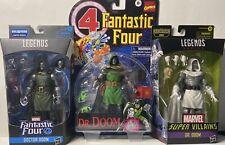 Hasbro Marvel Legends Doctor Doom - ?Big Deal?( 3 Action Figures 6? Inch )