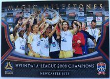 2017/18 FFA A-League Trading Cards - Newcastle Jets (Magic Milestones MM-06)