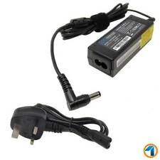 For MSI U135dx WIND U90 U100 U130 U135 Laptop Charger AC Adapter Power Supply UK