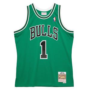Mitchell & Ness Kelly Green NBA Chicago Bulls Derrick Rose 2008-09 Swingman