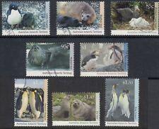 Australian Antarctic Territory 1992 - 1993  Wildlife set  SG 90 - 97  fine used