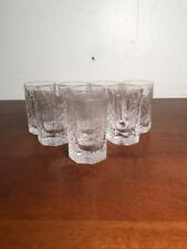 7 Iittala Kalinka Finland Shot Glasses Bar Barware Glasses