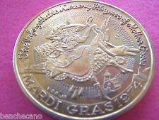 1974 Choctaw MOTHER GOOSE NURSERY RHYMES Multi-Color Mardi Gras Doubloon