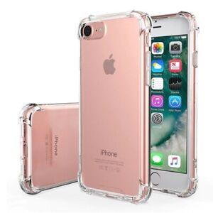 Hybrid Shockproof Thin Clear TPU Bumper Case Fits iPhone 11 8 6 Plus X XR XS MAX