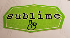 Sublime Bumper Sticker Collectible Rare Vintage 1990'S Metal Window Decal